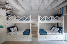 Stairs to top bunk, not both sides of bunk beds though