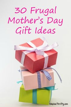 30 Frugal Mothers Da
