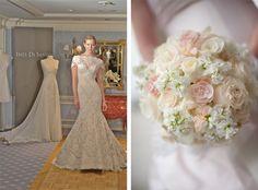 So delicate! pearl bridal bouquet