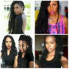 Hair CHALLENGES: Des Goddess Locs comme coiffure pro pour cet été
