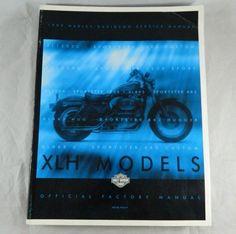 1999 Harley Davidson Official Factory Manual XLH Sportster Service Shop Book