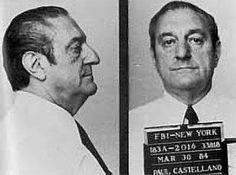 Mafia Mug Shots: Paul Castellano (1)