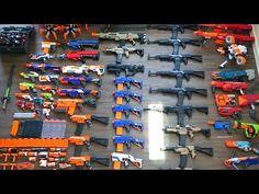 My Massive Nerf Gun Arsenal + Nerf AK-47 - YouTube