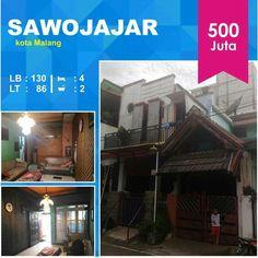 Rumah di Sawojajar kota Malang