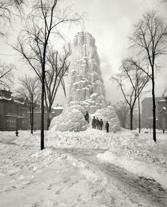Fountain of Ice: 1904
