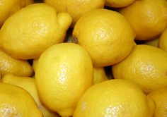 Lemons in our Produce Department
