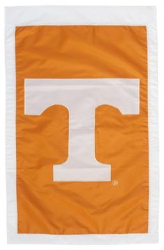NCAA Tennessee Volunteers Double Sided 29 x 44-Inch Applique Flag by Evergreen. AppliquÃE©d, double-sided, fade-resistant flag. Quality fabric and stitching create a flag that will last. Show your team spirit with this officially licensed NCAA flag. Flag measures 29 x 44-inches. Go Volunteers!.