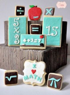 Math cookies My Cookie Couture