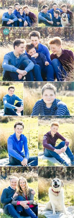 Teenage family photo shoot | Vicki Knights Photography