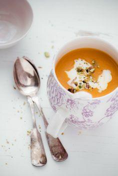 Potage - Carotte, panais, une touche de crème : A Table!