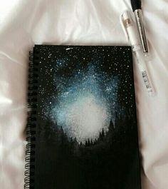 Decora tus cuadernos con tiza corrector !!