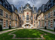 L 'Hotel de Ville, Paris ~ City Hall of Paris.