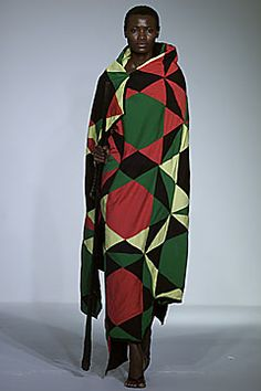 Miguel Adrover - Spring 2002 Ready-to-Wear ….A tongue-in-cheek Jamaican-themed inspired clothes