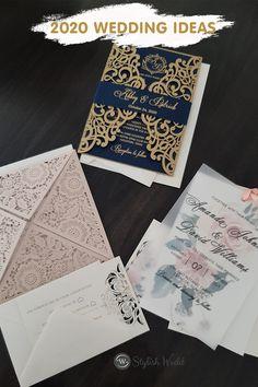 2020 umique wedding invitation ideas #wedding#weddinginvitations#stylishwedd#stylishweddinvitations #vellumweddinginvitations