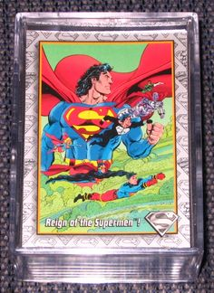 The Return of Superman (SkyBox 1993) Card Set NM-M