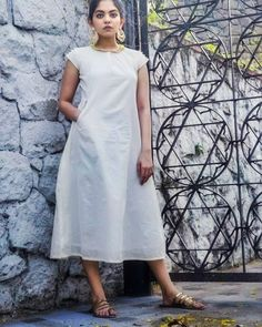 sainuzZ Diy Arts And Crafts, Instagram Models, Daily Wear, Kurtis, Krishna, Peter Pan, Street Styles, White Dress, Quote