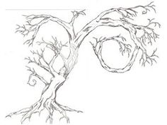 Dryad tree tattoo (Myth)