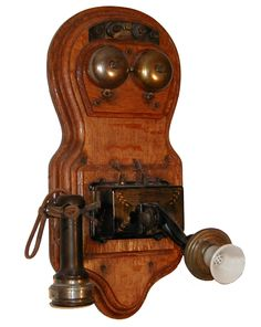 old telephones | ... Figure 8 - Telephonearchive.com - Antique Telephone Information