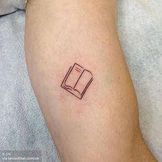 Book tattoo on the inner arm. Inner Arm Tattoos, Arm Tattoos For Women, Toe Nail Art, Acrylic Nails, Line Art Tattoos, Tatoos, Explore Tattoo, Book Tattoo, Little Tattoos