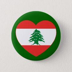 Shop Lebanese Heart Button created by Lebanese_Tees. Lebanon Flag, Beirut Lebanon, Wedding Invitation Wording, Invitation Cards, Heart Button, Mandala Coloring Pages, National Flag, Dog Bowtie, Custom Buttons
