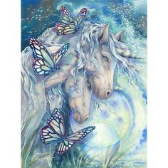 horse & butterfly 1