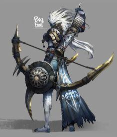 elfin archer I LOVE this archer. Brilliant -Z