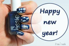 Silvester 2015 / 2016, nailart, nailpolish, new year, happy new year, essie, essie polish, bolg, blogger, beautyblogger, beautyblog, nails, nagellack