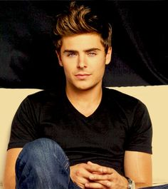 Zach Efron What? He's a man now. :)