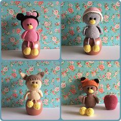Amigurumi Cute Little ducks Made by Kriziwizi@hotmail.com Http://Kriziwizi-com.webs.com