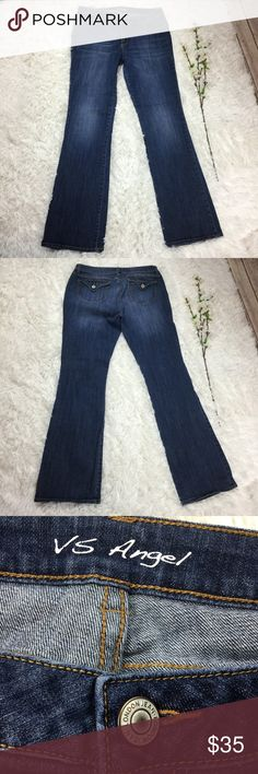 Victoria's Secret Angel boot cut blue denim jeans Vs boot cut angel jeans size 12. Open to offers or bundle with any other item to save instantly! Victoria's Secret Jeans Boot Cut
