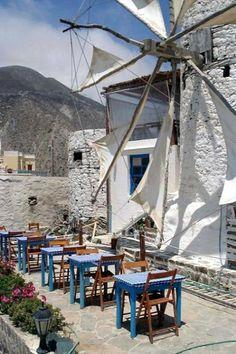 Olympos Village in Karpathos Island, Greece