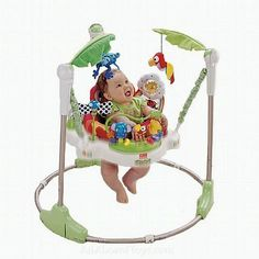 Fisher-Price Rainforest Jumperoo in Aprilbauer's Garage Sale in Hampton , VA for $25.00. Product description :Product Description A place full of wonderful sights and sounds, the Rainforest Jumperoo from Fisher-Price brings it all down to size for little explorers! Still tons of safe jumping fun which activates Rainforest music and lights, now there are toys all around and overhead with a spinning seat that helps your baby explore them all. The toys include a bobbing elephant, swinging ...