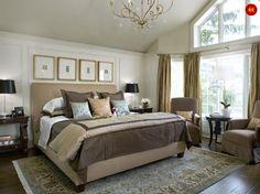 Bedroom Interior Design Ideas | Master Bedroom Designs, Designing a master bedroom interior love the windows and wall design