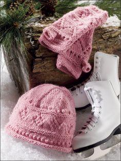 Fascinating Hat & Hand Warmers knitting patterns $3.29 on ePatterns Central at http://www.e-patternscentral.com/detail.html?code=EK00278=pntrste