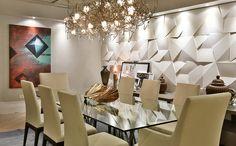 Scaleno Grezzo Branco - Arq. Roberto Borja - Mostra Artefacto D&D - Foto: Sidney Doll  #castelatto #piso #parede #design #arquitetura #revestimento #decor #decoração #sofisticacao #textura #inovacao #floor #revestimento #wall #interioresdesign #style #decoraçãodeinteriores #decordesign #decorando #referencia #decoration #decorlovers #decoracao #archilovers #castelatto #castelato#saladejantar #dining #diningroom #comedor