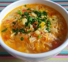 Low Carb Recipes, Soup Recipes, Healthy Recipes, Sopas Low Carb, Light Diet, How To Eat Paleo, Coco, Ketogenic Diet, Healthy Lifestyle