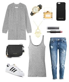"""""""Style 5"""" by chicsetter-901 on Polyvore featuring мода, Vince, By Malene Birger, H&M, adidas, Allurez, DKNY, Michael Kors, MICHAEL Michael Kors и Givenchy"""