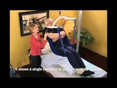 Freestanding Overhead Patient Lift for Home Health Care. Safe, Single Caregiver Operation.