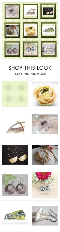 """""""For her"""" by keepsakedesignbycmm ❤ liked on Polyvore featuring Ballard Designs, Rustico, jewelry, accessories and gifts"""