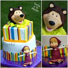 Masha and the bear - Cake by Myska