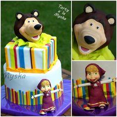 Masha and the bear - Cake by Myska