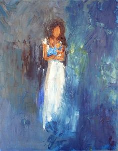 Mother and Child by Judy Mackey | oil painting | Ugallery Online Art Gallery