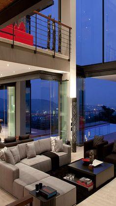 living room- inside outside