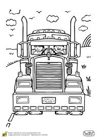 Semi Truck Coloring Pages Free Printable