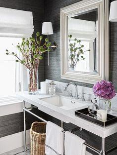 Blanco Interiores: O luxo de uma palhinha escura!