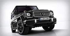 Mercedes G65 AMG - A beast with a V12 engine. Whenever I get bored of the Range Rover.