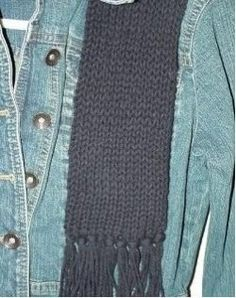 Knifty Knitter scarf pattern
