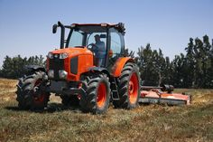 From the National Farm Machinery Show Kubota Tractor Corporation proudly unveils the Grand X – the revolutionary new generation of its delu. Zero Turn Lawn Mowers, White Tractor, Kubota Tractors, Farming, Trains, Farm Life, Sim, Classic Cars, Funny Stuff