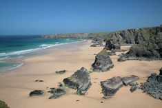The best beach in Cornwall - Bedruthan Steps