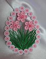 Dekorácie - Veľkonočné vajíčko - sakura - 6429427_